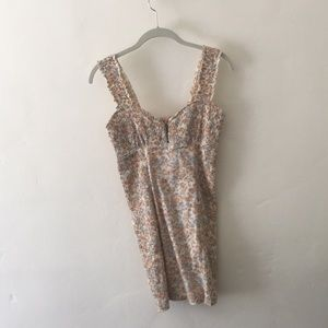 Free People Floral Bodycon Dress